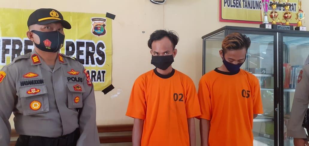 Tikam Warga Baradatu Way Kanan Polisi Tangkap Dua Warga Asal Muara Enim Di Bandar Lampung