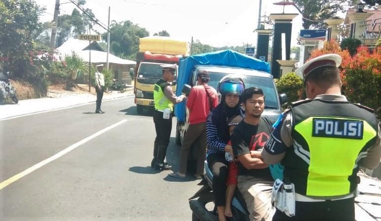 Hari Pertama Operasi Zebra Di Lampung Barat Dan Pesisir Barat 125 Kena Tilang